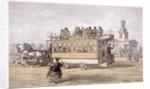Tram in Kennington, London by Anonymous
