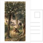 Under the greenwood tree by Sir John Gilbert