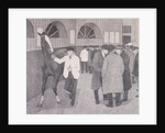Horse dealers at the Barbican, London by Anonymous
