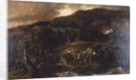 Landscape with Hunting Party by
