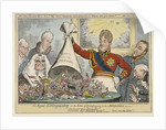 The Royal Extinguisher, or the King of Brobdingnag & the Lilliputians by