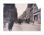 Barbican (Street) from the end of Red Cross Street and Golden Lane, London by Anonymous