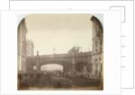 Holborn Viaduct, London as it crossed Farringdon Street by Henry Dixon