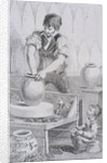 Potter at work, Cries of London, (c1819?) by