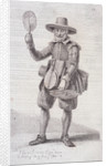 Fire screen seller, c1680, from Cries of London, (c1819?) by John Thomas Smith
