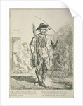 Stick seller, Cries of London by Paul Sandby