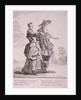Two crockery sellers, Cries of London by Paul Sandby