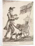 Pudding seller, Cries of London by Paul Sandby