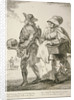 Two spoon sellers, Cries of London by Paul Sandby