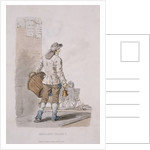 A dustman, Provincial Characters by Anonymous
