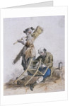Two chair menders, Provincial Characters by