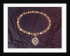 View of the jewelled collar worn by the Lord Mayor of London by