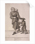 The London Beggar, Cries of London, (c1688?) by Anonymous