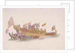 City of London State Barge by