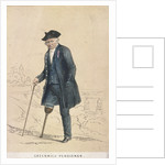 A Greenwich pensioner with one leg by