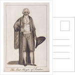 Lord Mayor of London in civic costume by