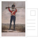 Soldier of the second regiment of Loyal London Volunteers by R Page