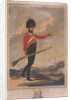 Military figure wearing the uniform of the tenth regiment of Loyal London Volunteers by Charles Tomkins
