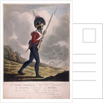 Military figure in the uniform of the eleventh regiment of the Loyal London Volunteers by Anonymous