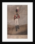 Military figure in the uniform of the Royal Westminster Regiment of Volunteers by John Dunn