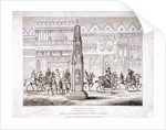 View of Cheapside Cross, London by Anonymous