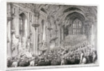 Civic reception of Lord Beaconsfield and Lord Salisbury at the Guildhall, London by