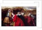 The Combat, scene from the English Civil War by