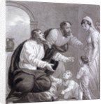 Christ and the children by Henry Corbould