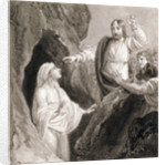 Christ Raising Lazarus from the Tomb by Henry Corbould