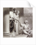 Peter and John with the Beggar at the Beautiful Gate by Henry Corbould