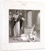 Peter and Sapphira, wife of Ananias by Henry Corbould