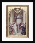 Study for the Opening of the Royal Exchange by Queen Victoria by Robert Walker Macbeth