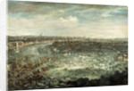The Thames During the Great Frost of 1739 by