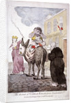 The Retreat of Carlo Khan from Leadenhall St. by Anonymous