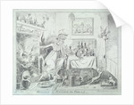 Mixing a recipe for corns by George Cruikshank