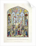 East window in St Margaret, Westminster, depicting the crucifixion, London by Anonymous