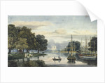 View of the flotilla on the Serpentine, Hyde Park, London by Anonymous