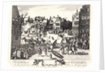 Execution of the conspirators in the Gunpowder Plot in Old Palace Yard, Westminster, 1606 by