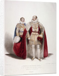 Frederick Augustus, Duke of York in the coronation dress and robes of estate by Samuel William Reynolds