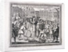 The execution of John Bradford and John Leaf at Smithfield, 1555 by Anonymous
