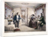 King Louis Philippe, Queen Victoria and Prince Albert in the royal carriage by