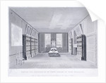 Interior view of Mr Pepys' library in York Buildings, Westminster, London by R Cooper