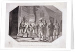 Scene showing the capture of Guy Fawkes by F Deeres