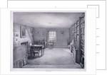 Samuel Taylor Coleridge's study in Highgate, Haringey, London by George Scharf