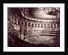 Interior view of the Royal Albert Hall, Kensington, London by