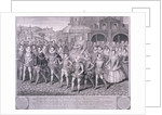 Procession of Queen Elizabeth I to Blackfriars, London, 16 June 1600 by George Vertue