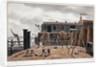 View of Steelyard Wharf, London by George Shepherd