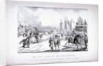 Eglinton Tournament, the Tilt-Yard of the 19th century, near the Regent's Park, London by Louis Maria Lefevre