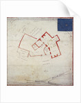 Plan of premises in Adams Court off Old Broad Street, London by Anonymous