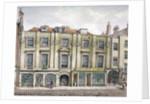 Shaftesbury House, Aldersgate Street, London by Robert Blemmell Schnebbelie